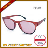 F14286 Top Plastic Sunglasses with Thin Frame