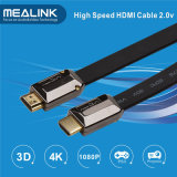 4k 3D Supported 1.4V Flat HDMI Cable