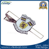 High Quality Silver Plated Metal Tie Clip