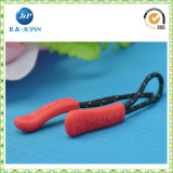Wholesales Rubber Zipper Pulls with DOT String (JP-ZP019)