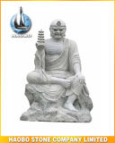 Stone Religious Figure Arhat Sculpture Luohan Statue
