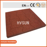 Recycled Rubber Granules Colorful EPDM Flecks Produce out Special Floor Tile Weight