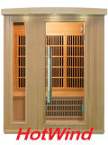 2017 Hotwind Hemlock Far Infrared Sauna for 3 Person-Bt3