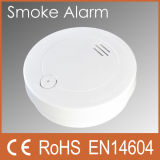 Battery Operated Smoke Detector Alarm with CE RoHS (PW-509S)