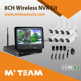 Quick Installation 8CH Wireless Camera Kit with 10 Inch Screen