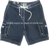 Tc 65/35 Flat Waist Men Board Short with Pockets