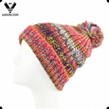 Fashion Space Dyed Multicolor Knitted Cap