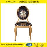 Classical Metal Round Back Dining Chair Restaurant Chair