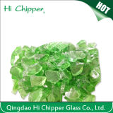Ford Green Tempered Fire Pit Glass Chips