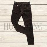 New High Quality Men′s Corduroy Pant in Brown (HDMJ0054)