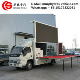 DFAC 4*2 Small LED Display Truck P8 LED Advertising Truck