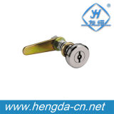 Chrome Metal Cupboard Long Cam Locks (YH9742)