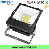 Finned Radiator Meanwell Driver PF>0.95 IP65 150W Flood Light LED