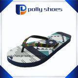 Double Color Funny Flip Flop Shoe for Women
