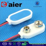 White Color 9V Battery Clip with I Type (DCK1)