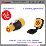 High Quality UL Approved Circular Cable Power Waterproof Connectors