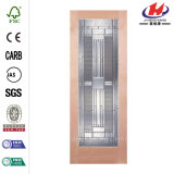 Long Panels HDF High Quality Glass Door