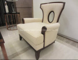 New Design Five Star Hotel Solid Wood Armchair