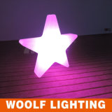 Colorful Christmas Decorations Modern LED Lighted Stars