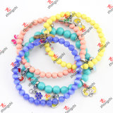Stainless Steel Wire Beads Bangles/Bracelet for Young Girls Jewelry (B15)