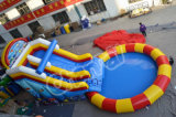 Inflatable Slide with Water Pool (CHSL501)
