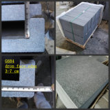 Dark/Black G684 Drop Face Edge Granite Pool Coping/Border Tile/Paver