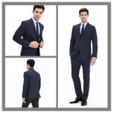 OEM Factory Price Customized Two Button Notch Lapel Men′s Cashmere Wool Slim Fit Fashion Suit