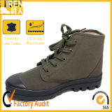 China Cheap Price high Quality Training Shoes Military Canvas Shoes