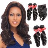 6A Cuticle Aligned Hair, Cheap Peruvian Human Hair Bundles