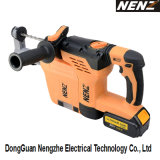 Soft-Grip Handle Electrical Hammer with DC 20V Li-ion Battery and Dust Collection for Construction (NZ80-01)