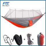 Heated Nylon Hammock for Outdoor Camping with Mosquito Net