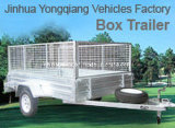 Hot Dipped Galvanized Small Car Trailer/Box Utility Trailer