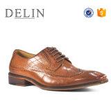 Promotion Men Leather Dress Shoes Quality Footwear Men