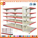 Double Sided Metal Display Wire Mesh Supermarket Shelf (Zhs142)