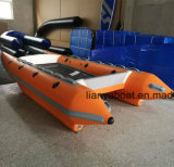Liya Foldable High Speed Boat Inflatable Catamaran for Sale
