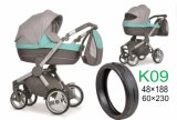 Ecofriendly Small Rubber Tyre for Baby Stroller (48× 188)