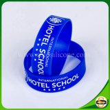 Hot Sales Silk Screen Color Printed Silicone Bracelets for Sports