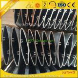 Customized PVDF Powder Coated Outdoor Oval Aluminium Extrusion Louver