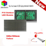 P10 DIP Outdoor Single Yellow LED Panel 320*160 mm for Moving LED Display Screen
