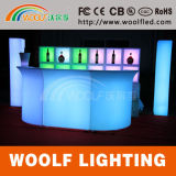 Rechargeable Glow Table LED Outdoor Garden Bar Furniture