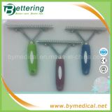 Pet Grooming Plastic Handle Shedding Rake