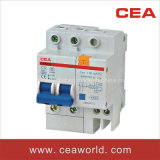 DZ47LE(C45LE) Residual Current Circuit Breaker With Over Current Protection