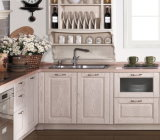 Classic Kitchen Cabinets, Solid Wood Modern Design for Kitchen Furniture
