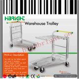 Nestable Metal Warehouse Cargo Trolley Cart