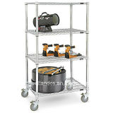 Heavy Duty Removble Garage Metal Shelving Cart (CJ9060180A4C)