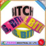 Hot Custom One Inch Wristband Silicone