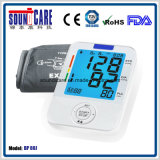 Medical Electronic Colorful Backlight Digital Arm Blood Pressure Monitor (BP 80J) with Large LCD