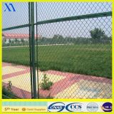 Green Vinyl Coated Welded Wire Mesh Fence