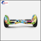Top Grade Lithium Battery Self Balance Car Standing Two-Wheel Electric Scooter 10inch Pneumatic Samsung Battery
