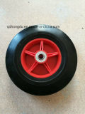 High Quality Plastic Rim Solid Wheel